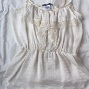 Silk and Lace Blouse
